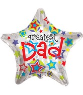 "22"" Greatest Dad Star"