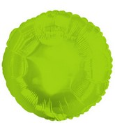 "18"" Classic Lime Green Round"