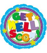 "18"" Get Well Type Colorful"