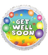 "18"" Get Well Party Balloon"