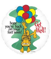 "18"" Garfield ""Get Well"""