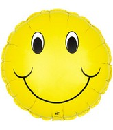 "9"" Airfill Smiley Face M5"
