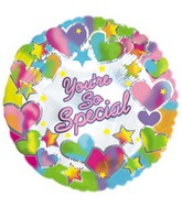 "9"" Airfill You&#39re So Special Hearts & Stars M32"