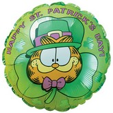 9'' Garfield St. Patrick's Day M304