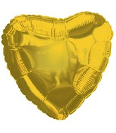 "18"" Citron Yellow Heart"
