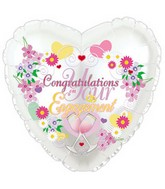 "17"" Congratulations on You're Engagement Packaged"