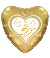 "18"" 50th Wedding Anniversary"