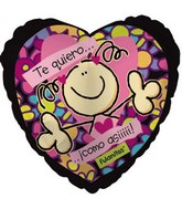 "18"" Te Quiero Como As!! Balloon"