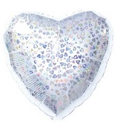 "9"" Silver Heart Dazzleoon M89"