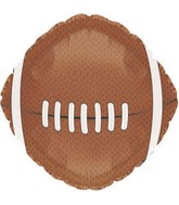 "17"" Football Shaped Balloon Packaged"