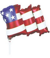 "12"" Airfill Waving Flag M235"