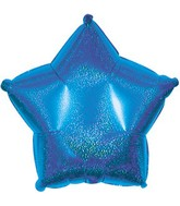 "18"" Blue Star Dazzeloon Balloon"