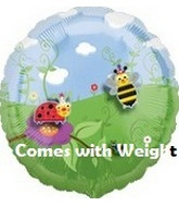 "18"" Decorate Own Balloon Bugs with Stickers Weight"