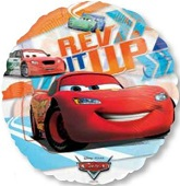 "26"" Disney Cars See-Thru Rev It Up"