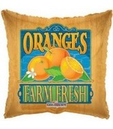 "18"" Farm Fresh Oranges Fruit Balloon"