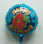 "18"" Age 4 Boy Balloon"