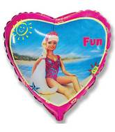 "18"" Beach Fun Mylar Balloon"