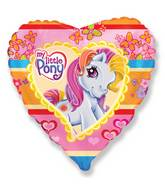 "18"" My Little Pony Heart Balloon"