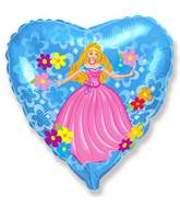 "18"" Princess Mylar Balloon"