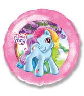 "18"" My Little Pony Pink Border"