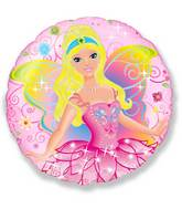 "18"" Fairy Pink Mylar Balloon"