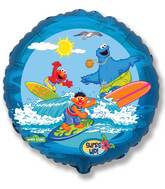 "18"" Sesame Street Sea & Surf Balloon"