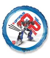 "18"" Transformers Optimus Prime Mylar Balloon"