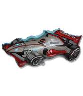 "36"" Formula Racing Car Red/Silver"