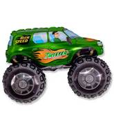 "30"" Big Wheels Monster Truck Green"