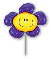 Airfill Only Violet Flower Balloon