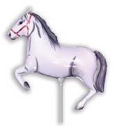 Airfill Only Horse White