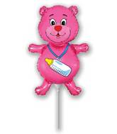 Mini Airfill Bottle Bear Fuchsia