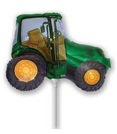 Airfill Only Green Tractor Balloon