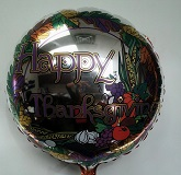 "18"" Happy Thanksgiving Mylar Balloon"