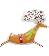 Reindeer Balloons Wholesale Foil Balloons