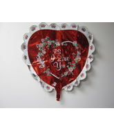 "27"" P.S I Love You Heart Shape Balloon"