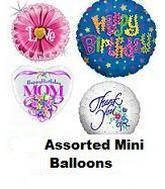 "100 Assorted 2-14"" Airfill Balloons"
