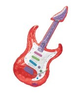 "41"" Music Jumbo Guitar Balloon"