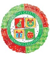 "18"" Seasons Greetings Multi-Icon"