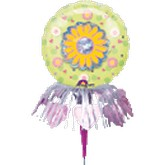 "9"" Daisy Balloon Wanderful Balloon"