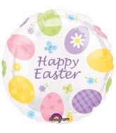 "18"" Happy Easter Eggstavaganza Balloon"