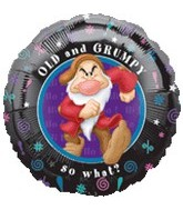 "18"" Disney Old and Grumpy Dwarf Balloon"