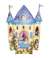 "35"" Disney Princess Castle Balloon"