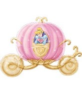 "33"" Disney Cinderella Carriage"