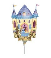 (Airfill Only) Disney Princess Castle Balloon Shape