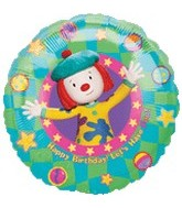 "18"" Jo Jo&#39s Circus Birthday Fun Balloon"