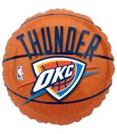"18"" NBA Oklahoma City Thunder Basketball"