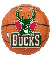 "18"" NBA Milwaukee Bucks Basketball"