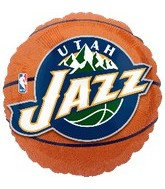 "18"" NBA Utah Jazz Basketball Balloon"