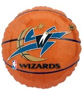 "18"" NBA Washington Wizards Basketball"